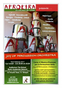Joy Of Percussion Orchestra 2017