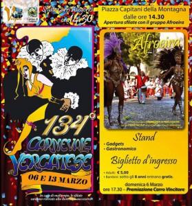 134° Carnevale Vergato 2016
