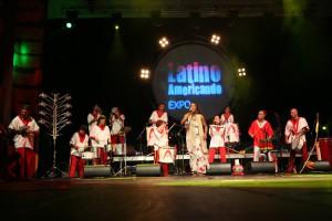 Afroeira Spettacolo Latinoamericando 2009 a