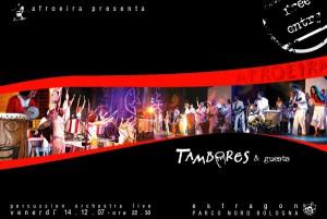 flyer Tambores